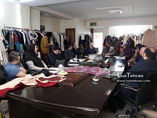جلسه داوری آثار راه یافته به بخش مسابقه جشنواره هفتم