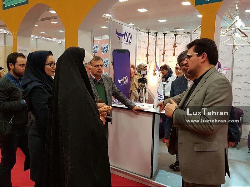 بازدید دکترحمید زاده از هفتمین نمایشگاه مد و لباس فجر