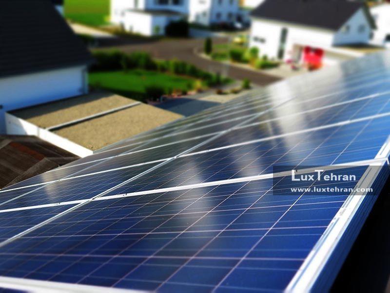 پنل های خورشیدی در تامین انرژی خانه ها