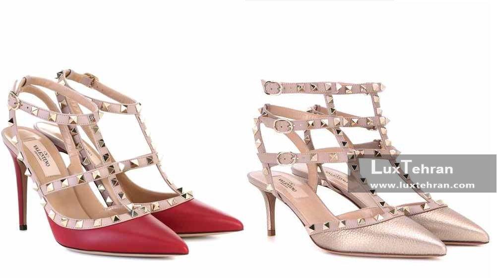 کفش های پاشنه بلند لاکچری