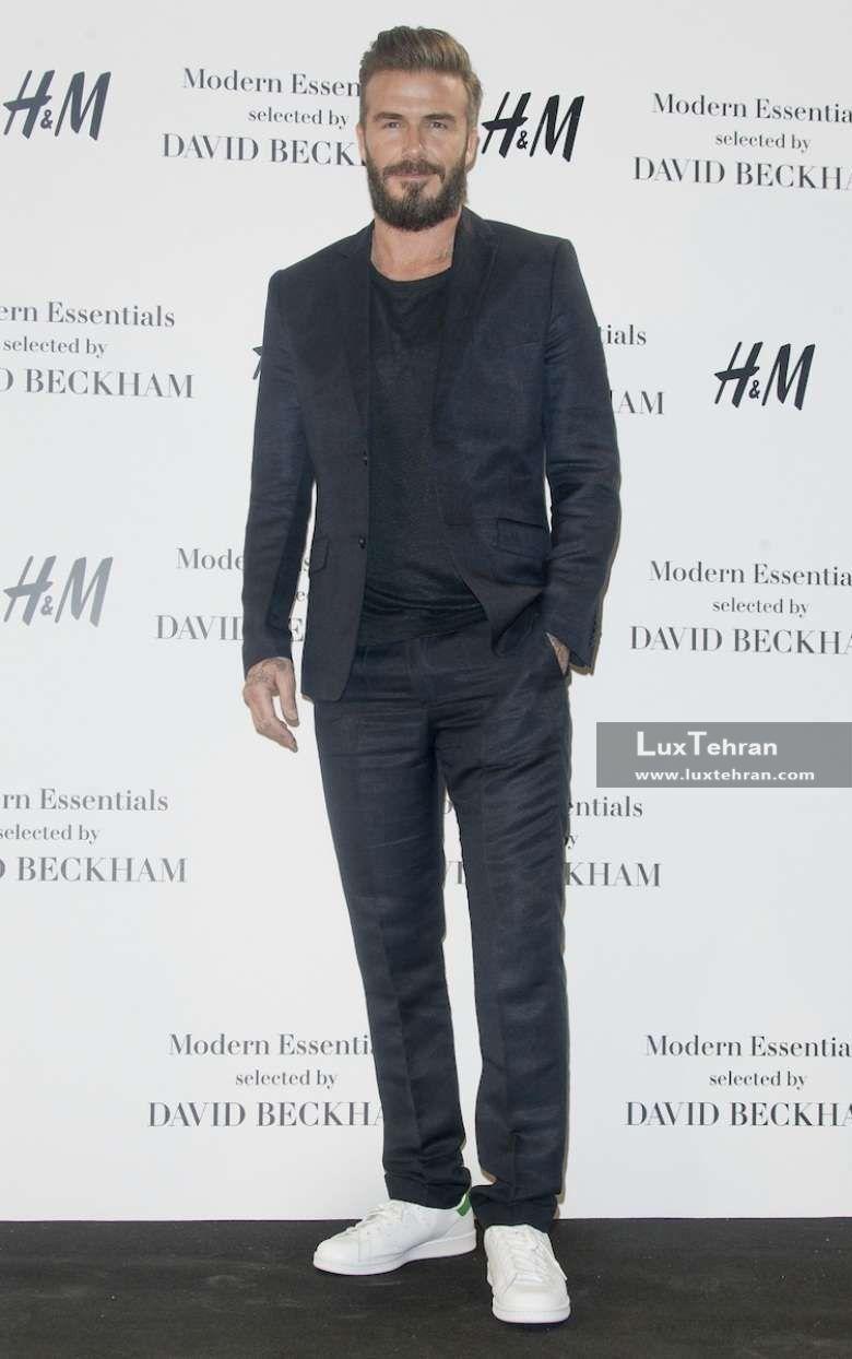 دیوید بکهام از طرفدارن محصولات H&M