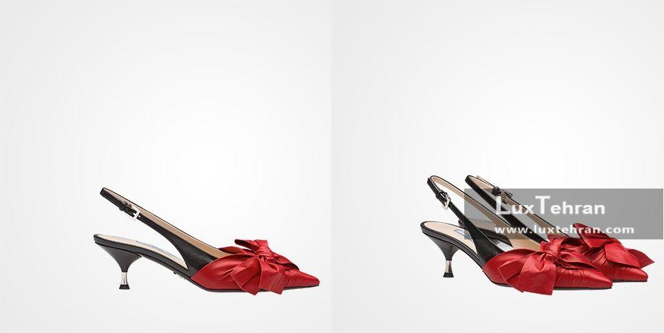کفش های ۱۰۰۰ یورویی زنانه چرمی پرادا
