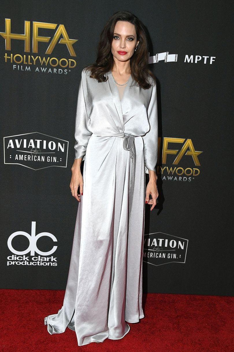 لباس های ماکسی و بلند آنجلینا جولی