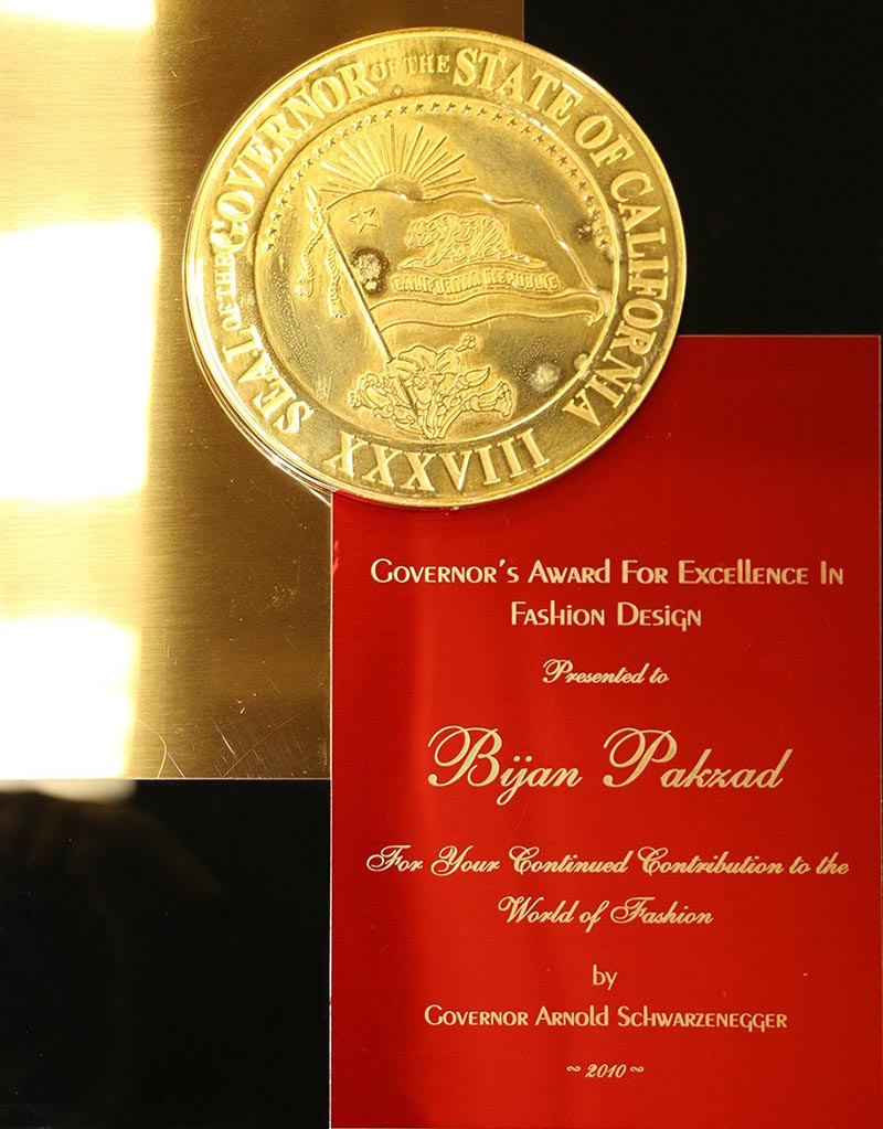 مدال افتخاری که آرنولد شوارتزنگر