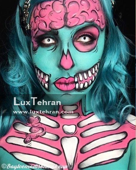 طراحی استایل و آرایش هالووین