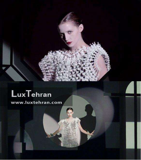 تلفیقی از سنت و مدرنیسم را در طراحی و تولید این لباس سه بعدی