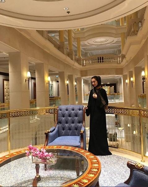 معماری مجلل هتل ۵ ستاره ریتز کارلتون ریاض در هفته مد عربستان
