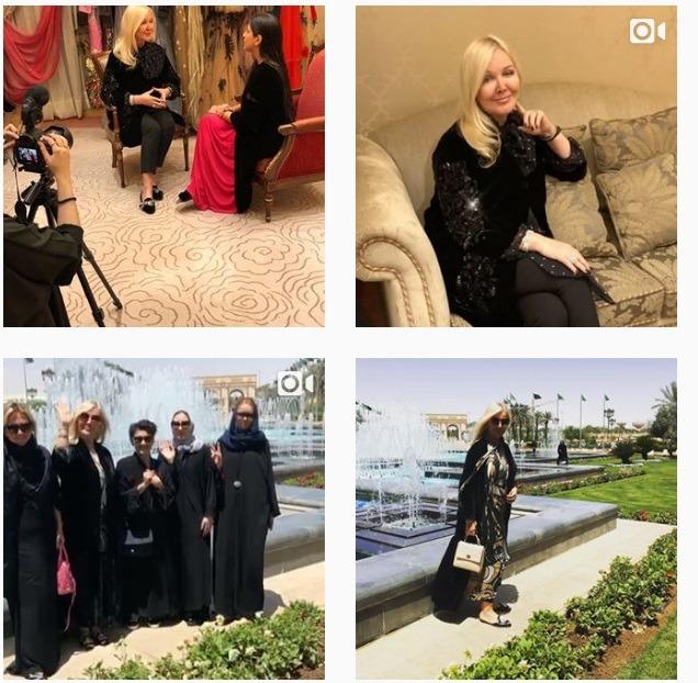 طراح مد روسی در هفته مد عربستان