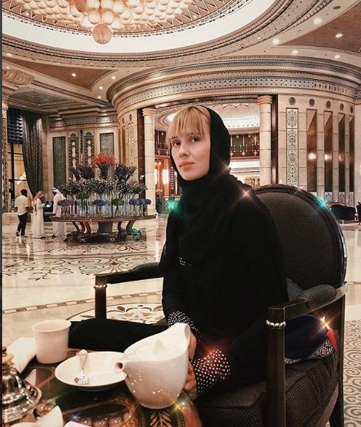 مدل ذوسی در هفته مد عربستان