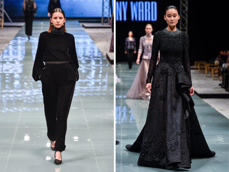 لباسهای به نمایش گذاشته شده در هفته مد عربستان سعودی