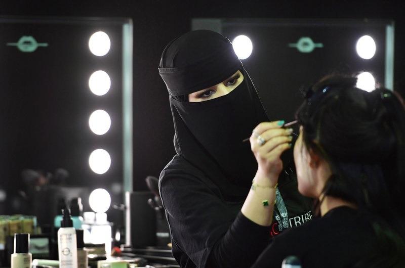 گریمورهای نخستین هفته مد عربستان سعودی