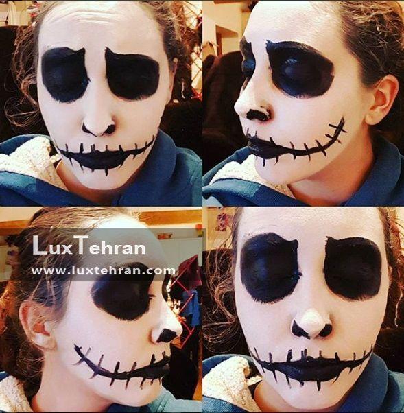 آرایش چهره در جشن هالووین
