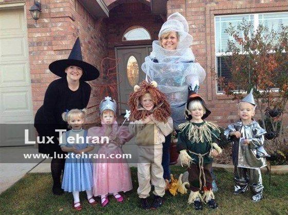 جشن هالووین خانوادگی