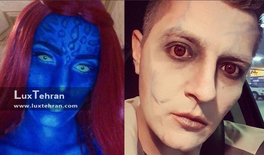 کاربران اینستاگرام و سبک و سیاق هالووینی