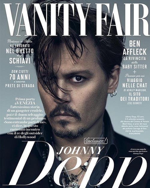 جانی دپ روی جلد مجله VANITY FAIR