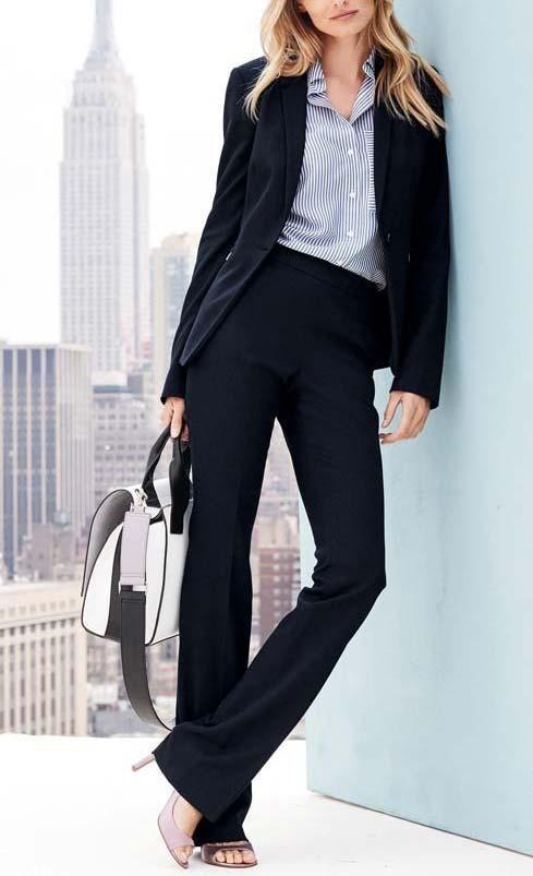 استایل کت و شلوار هم رنگ