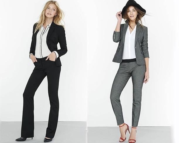 مدل های کت و شلوار زنانه جلو باز
