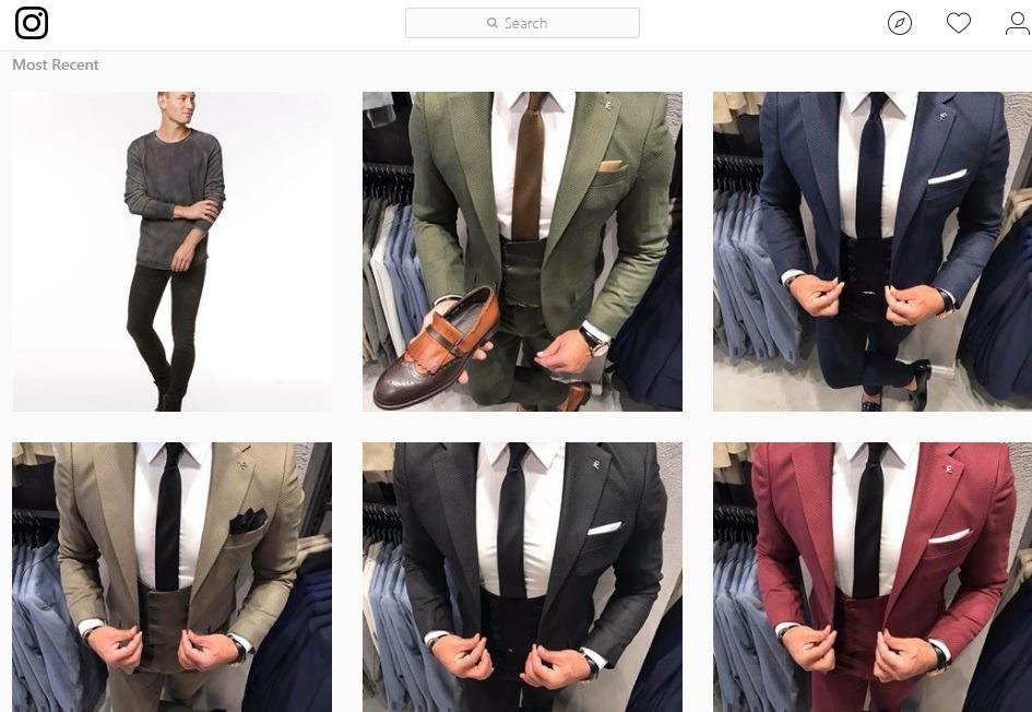 هزاران طرح کت و شلوار مردانه