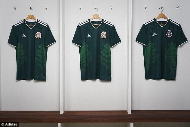 لباس طرح دار تیم ملی مکزیک