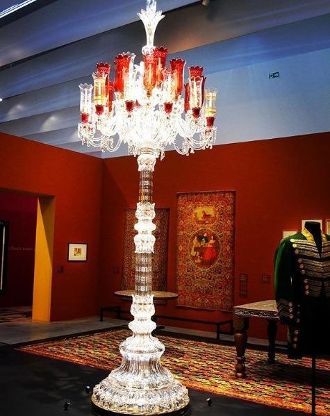 مایشگاه مد و لباس ایرانی-اسلامی در موزه لوور امپراطوری گل سرخ فرانسه