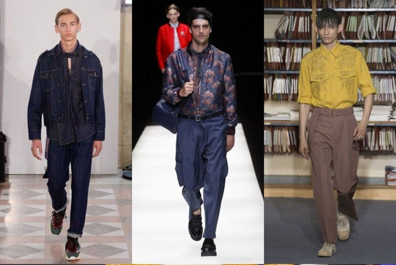 الگوی پیشنهادی لباس مردانه از برند DIRES VAN NOTEN