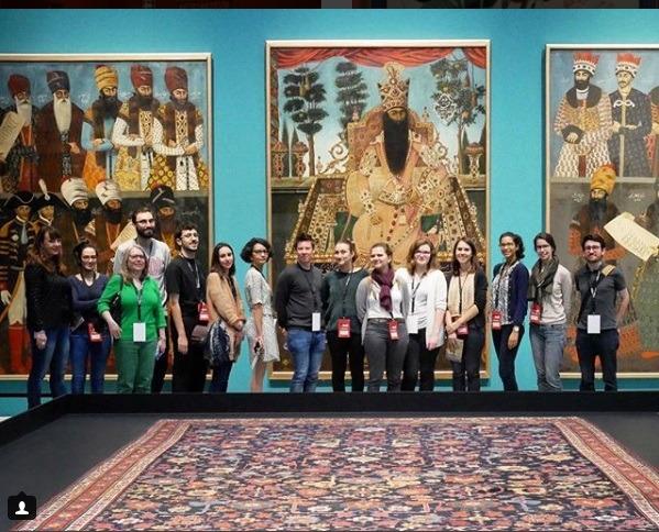 مد و لباس قاجاری در موزه لوور