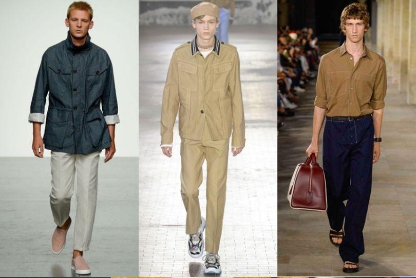 یراهن و کت های اسپرت دو جیب مردانه