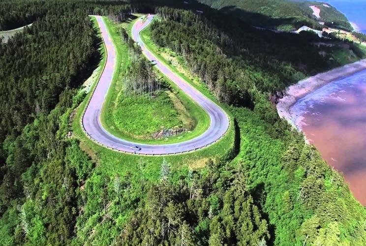 مسیرهای رویایی برای ماشین گردی در نیوبرانزویک