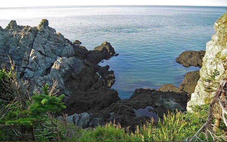 جزیره گردی در GRAND MANAN استان نیوبرانزویک