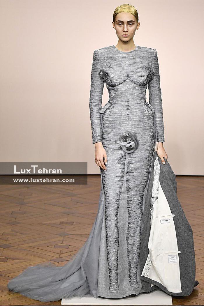 طرح لباس مفهومی در هفته مد پاییزه پاریس ۲۰۱۸