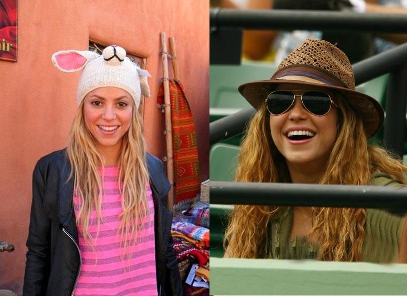 مدل کلاه های شکیرا