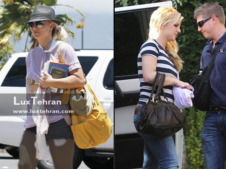 مدل های دستی و رو دوشی چرمی بریتنی اسپیرز