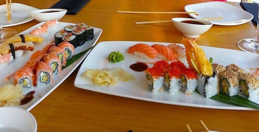 غذاهای هیجان انگیزی که در رستوران کایسون سوشی آنتالیا