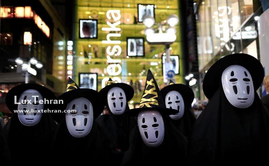 هالووین گردی در خیابان های استکهلم