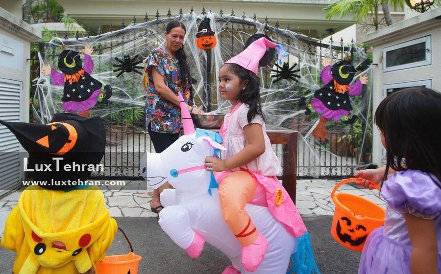 گوشه ای از مراسم هالووین