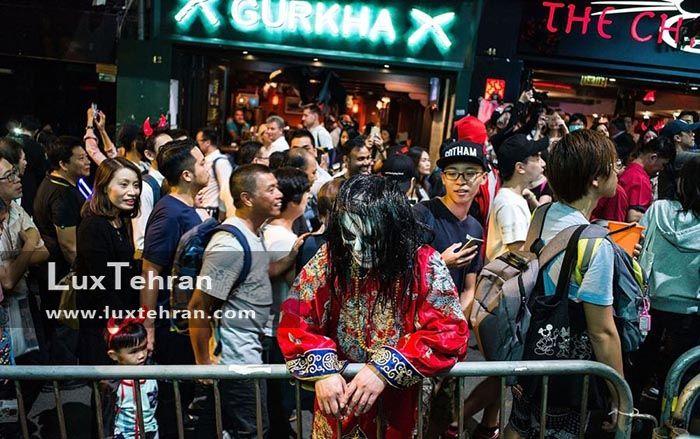 هنگ کنگی ها در جشن هالووین