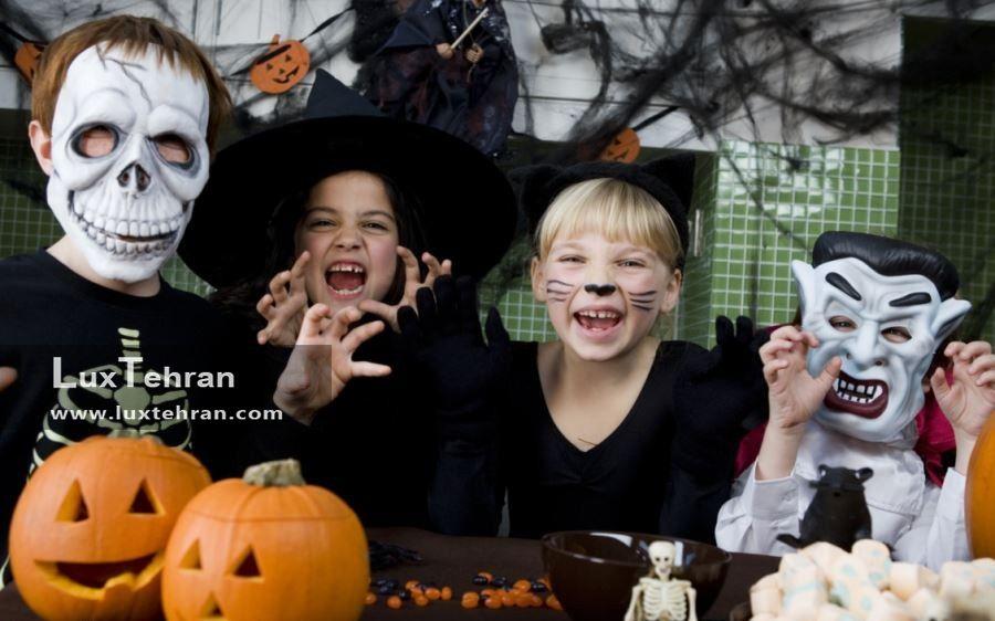 طراحی وحشتناک چهره در طراحی جشن هالووین