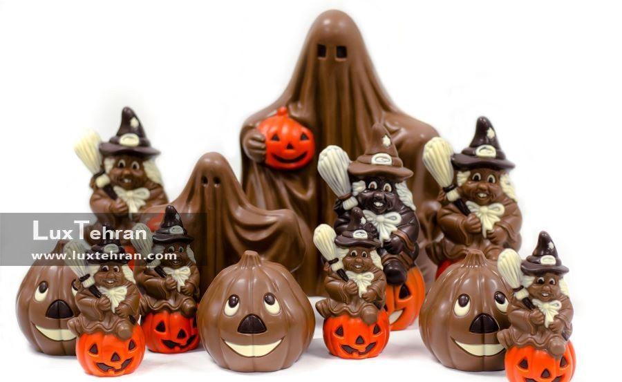 شکلات های جشن هالووین