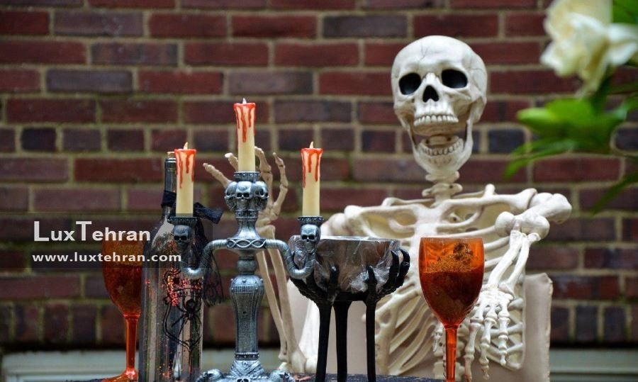 جمجمه در جشن هالووین