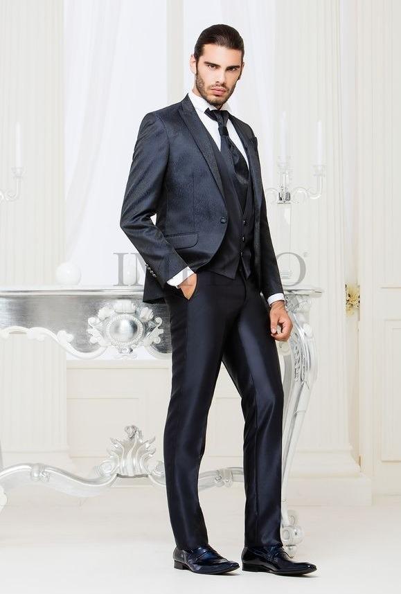 کت و شلوار دامادی با کراوات