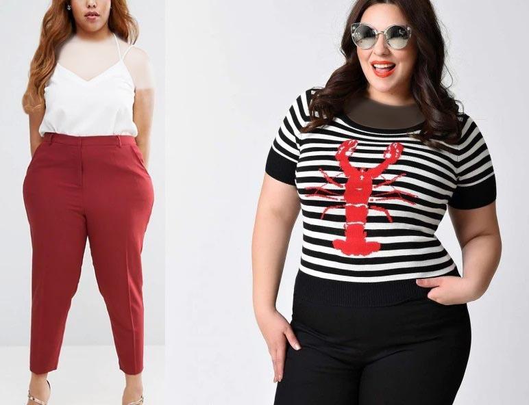 زنان چاق در انتخاب رنگ
