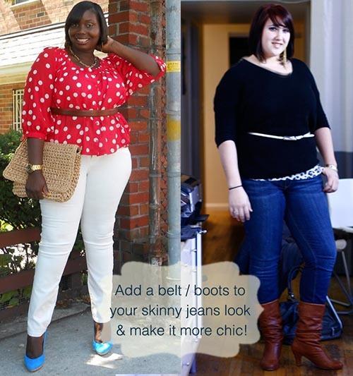 استایل دو زن چاق