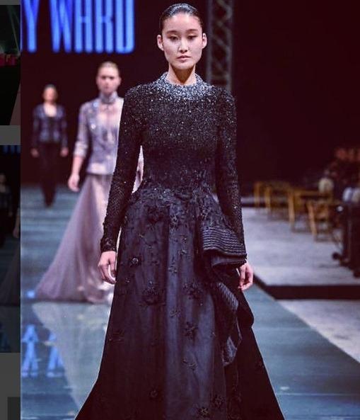 مدل های آسیایی حاضر در نخستین هفته مد عربستان سعودی