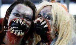 آرایش در هالووین