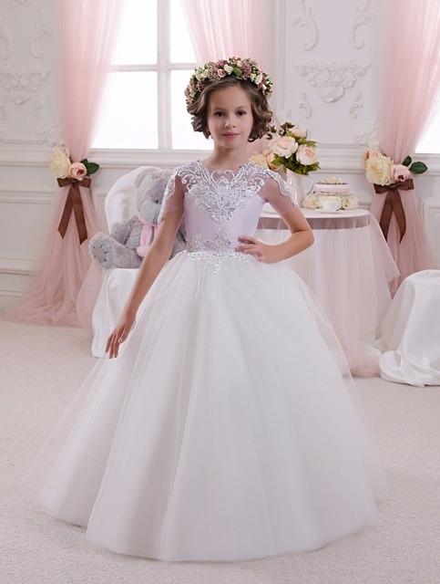 لباس عروس بچه گانه مدل پروانه