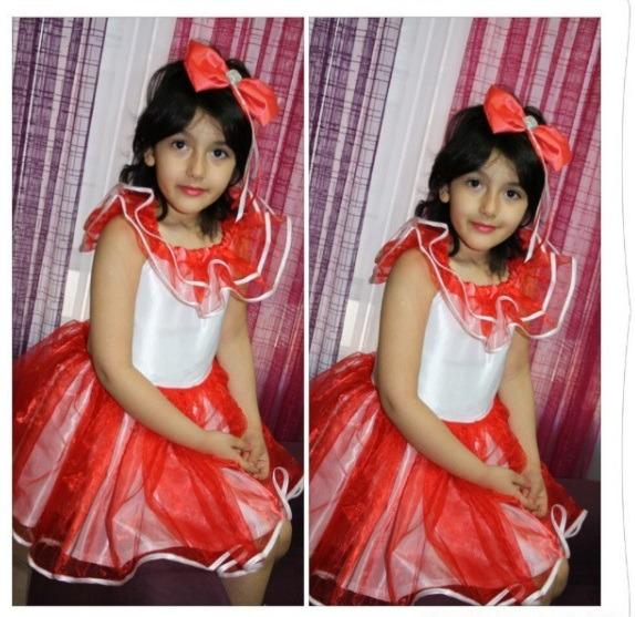لباس عروس بچه گانه قرمز