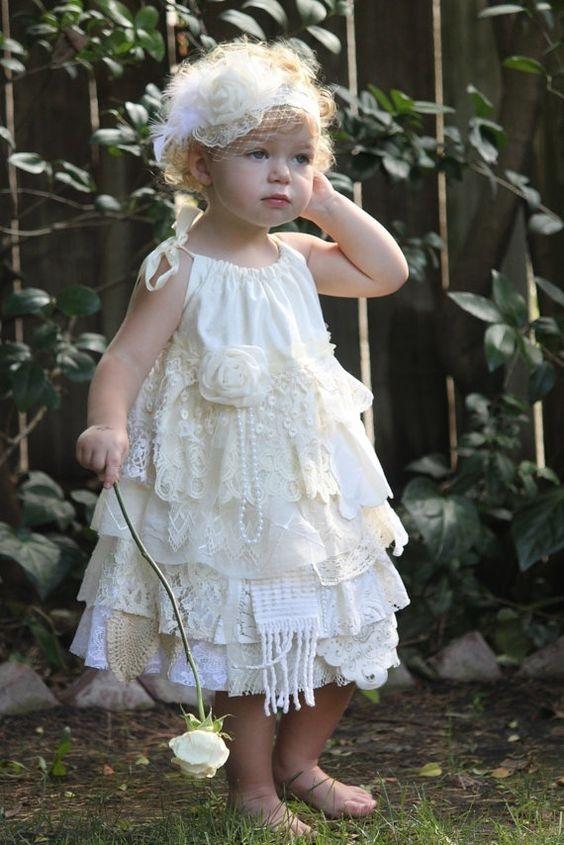 لباس عروس بچه گانه برای کودکان زیر ۲ سال