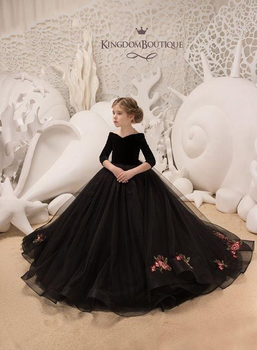 لباس عروس بچه گانه مشکی