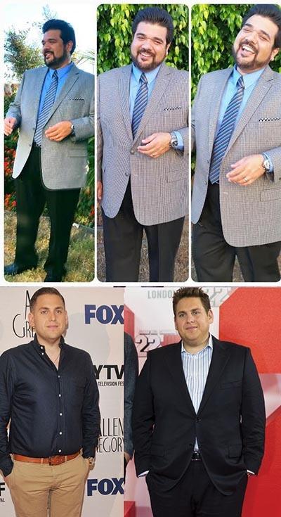 کت و شلوار افراد چاق