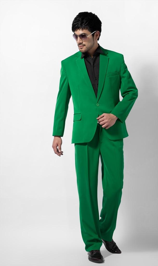 طرح تک دکمه سبز رنگ